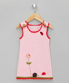 Take a look at this Pink Enchanted Forest Jumper - Infant, Toddler & Girls on zulily today!