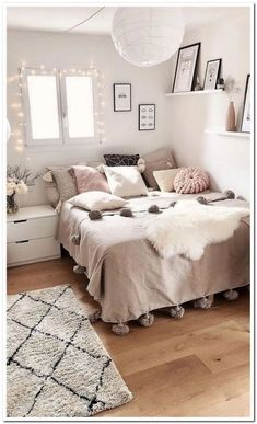 56 the basic facts of bedroom ideas for teen girls dream rooms teenagers girly - Bedroom Ideas - Bedroom Ideas Girl Bedroom Designs, Room Ideas Bedroom, Modern Bedroom Design, Ikea Bedroom, Master Bedroom, Bedroom Furniture, Girly Bedroom Decor, Find Furniture, Bedroom Art