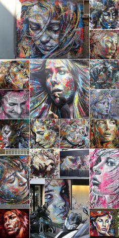 Street Art by David Walker Loveeee