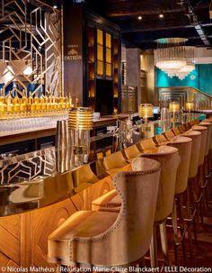 The Alcazar Restaurant, Paris, designed by Laura Gonzalez via Art Deco Facebook page