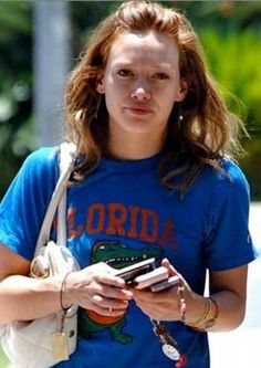 Hillary Duff without makeup