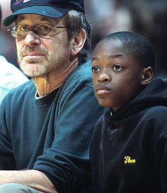 Steven Speilberg and son