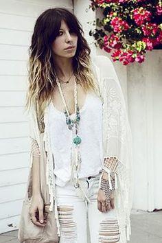 Pocahontas Princess Necklace - Cream Suede & Turquoise | Spell