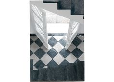 Black and White Antique Marble (Antiqued Stone)