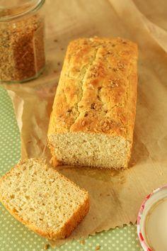 Pão de linhaça e outras farinhas, todas sem glúten para testar outros sabores ou…