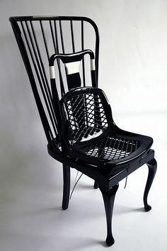 custom made chairs by by karen ryan, via Flickr