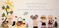 ELITE4U PMBY JULIE CHILD paper piecing set/kit for premade scrapbook pages album