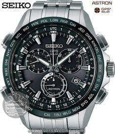 Seiko SSE003J1 Astron GPS Solar Chronograaf Horloge Heren