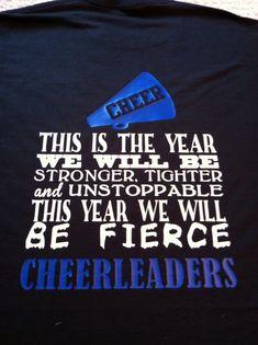 Cute for my JM this year !!! #fierce #cheerleaders