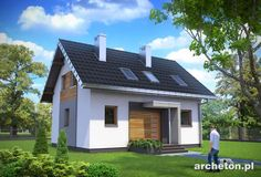 Projekt domu Drops, http://www.archeton.pl/projekt-domu-drops_1430_opisogolny