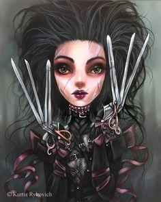 Eliza's Hands – The Art of Kurtis Rykovich Gothic Kunst, Imagenes Dark, Glenn Arthur, Gothic Artwork, Doll Tattoo, Mark Ryden, Goth Art, Audrey Kawasaki, Monster Art