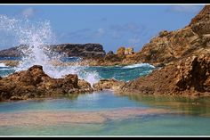 On de coast at Grand Font, St Barth Island (French West Indies). Saint-Barthelemy, Other_ France