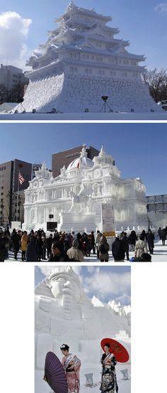 Ice sculptures #streetart