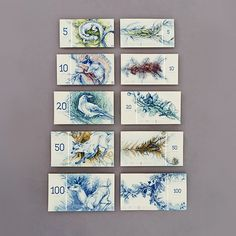 Hungarian paper money on Inspiration Is