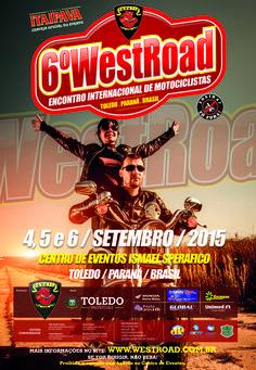 6º West Road  Data: 04/09/2015 até 06/09/2015  Cidade: Toledo, PR