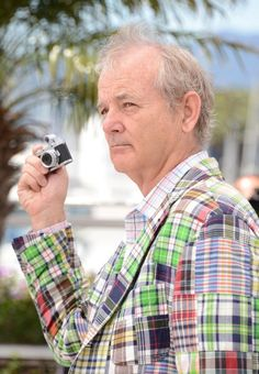 Bill Murray and a little camera.