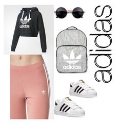 """""""adidas👍👍👍"""" by aggeliki27796 ❤ liked on Polyvore featuring adidas and Topshop"""