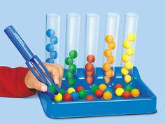 Tweezer Tongs Color Sorting Kit at Lakeshore Learning