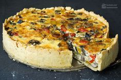 Ratatouille-Quiche (Gemüsekuchen)   Madame Cuisine Rezept