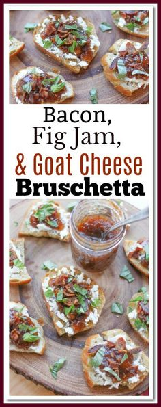 #ad #TFMfortheHolidays Make this Bacon Fig Jam, and Goat Cheese Bruschetta for the perfect gourmet centerpiece for building an antipasto platter. Surround the bruschetta with cheese straws, crackers, fine cheeses, spiced nuts, cured meats, shrimp cocktail, and hummus; and you have the ultimate holiday antipasto platter! You can find everything you need at @TheFreshMarket