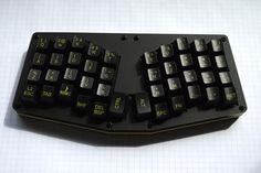 WASD custom keycaps for Atreus