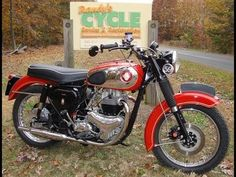 1960 BSA Super Rocker A10SR with Electric Start by Randy's Cycle Service @ rcycle.com - YouTube