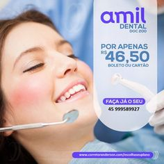 apenas 46.50 por pessoa ! Amil Dental, Create Your Own Website, Create Yourself, Learning, Dentists, Braces, Natural Person, Bag, Studying