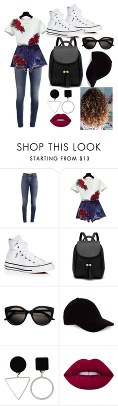 """""""At the cinema"""" by lsighartau ❤ liked on Polyvore featuring Supra, Converse, Le Amonie and Lime Crime"""