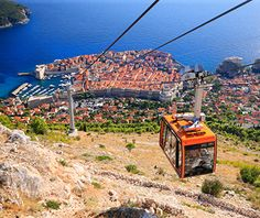 World's Coolest Tram Rides: Dubrovnik Cable Car  Nice place to have lunch at the top.