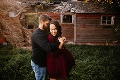 Engagement session at a barn house. #omaha #nebraska #nebraskawedding #nebraskaweddingphotographer