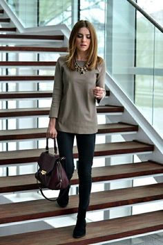 Top Winter Work Outfits Ideas 2017 22