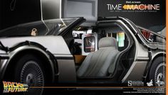 1/6 scale DeLorean Time Machine
