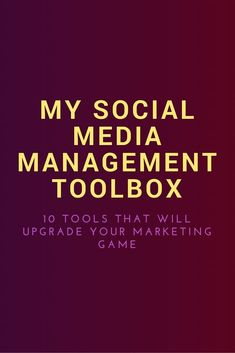 One factor that is crucial to your success as a digital marketer or social media manager are the tools that you use to create your content, automate your activity, and distribute your content. I have been managing social media accounts for about 8 years n