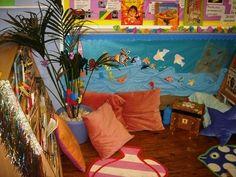 Rosetta Primary School, Newham  Book corner