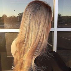 Not sure what is more perfect about this picture. We love a good sunset and this hair is everything! @sxe_dan did it again with this amazing look on @mikahglass . #repost #redken #bravadosalon #redkencolor #birminghamhairstylist #bhamhair #haircolor #fallhair #fallcolor #balayage #ombre #blonde #birminghamhair #birminghamsalon #birminghamal #bhamal #birmingham