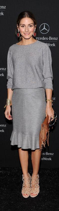 Olivia Palermo joyas - pendientes grandes