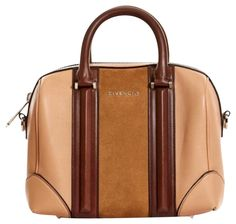 Givenchy Lucrezia Mini Colorblock Light Beige Leather  Suede Satchel 36%  off retail. Satchel PurseSatchel HandbagsLeather ... 5185070fe232a