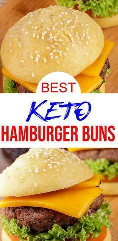 Keto Foods, Ketogenic Recipes, Keto Snacks, Keto Recipes, Quick Snacks, Chili Recipes, Soup Recipes, Dessert Recipes, Keto Buns For Burgers