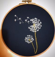 33 Best Ideas Embroidery Hoop Wall Decor Best Ideas Embroidery Hoop Wall Decor Simple embroidery wallDIY embroidery - a quick update for your basic shirtsEmbroidery: so easy to embroider a simple T-shirt with a summery motif Hand Embroidery Design Patterns, Embroidery Hoop Crafts, Hand Embroidery Videos, Hand Embroidery Flowers, Learn Embroidery, Silk Ribbon Embroidery, Modern Embroidery, Embroidery For Beginners, Embroidery Hoop Art
