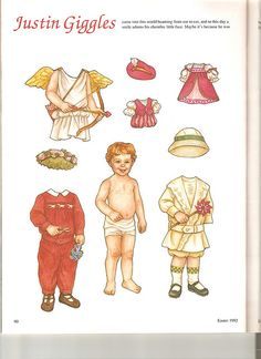 Sew Beautiful paper doll Justin 1 by Lagniappe*Too, via Flickr