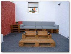 Imágenes de muebles hechos con palets | Fotos o Imágenes | Portadas para Facebook