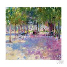 Tuileries, Paris Giclee Print by Peter Graham at Art.com
