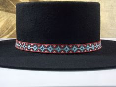 American Star Native American Beaded Hat Band With The Vintage Colors Of Flat…