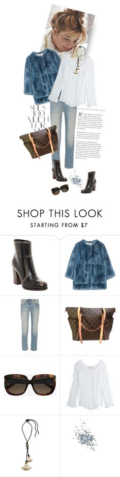 """""""mood1398"""" by du321 ❤ liked on Polyvore featuring Rika, Prada, Marni, The Row, Louis Vuitton, Yves Saint Laurent, Michael Kors, Lanvin and Topshop"""