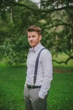 groomsman bow tie ideas #bowtie http://www.weddingchicks.com/2013/12/03/enchanting-boho-chic-wedding/