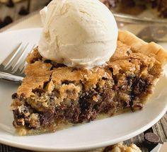 La recette de tarte moelleuse aux pépites de chocolat!
