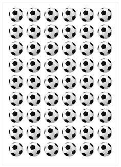 Ver producto: Modelo nº 816: Balones de fútbol Soccer Decor, Soccer Theme, Soccer Birthday, Soccer Party, Soccer Ball, Birthday Parties, Man Images, Soccer Party Favors, Football Birthday Cake