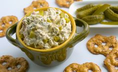 Dill Pickle Dip is one mouth-puckering experience you'll want to have from NoblePig.com.