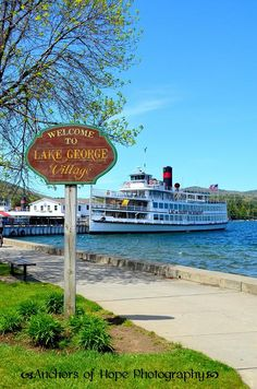 I may have grown up in a suburb of NYC but I call Lake George NY home. Not only have I vacationed there since I was very little I spend my summer's working as a camp counselor on this incredible lake.