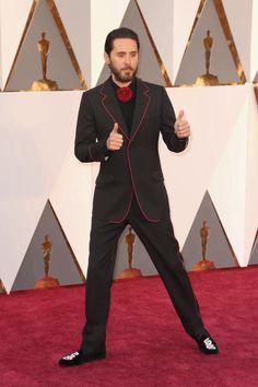 #JaredLeto en la Alfombra Roja de los #Oscars2016